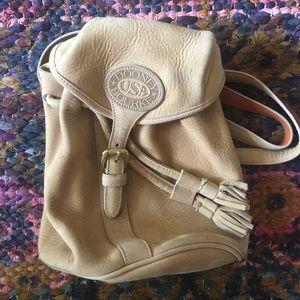 Vintage Dooney & Bourke Suede Mini Backpack
